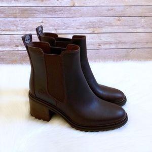 Timberland Dark Brown Sienna High Chelsea Boots